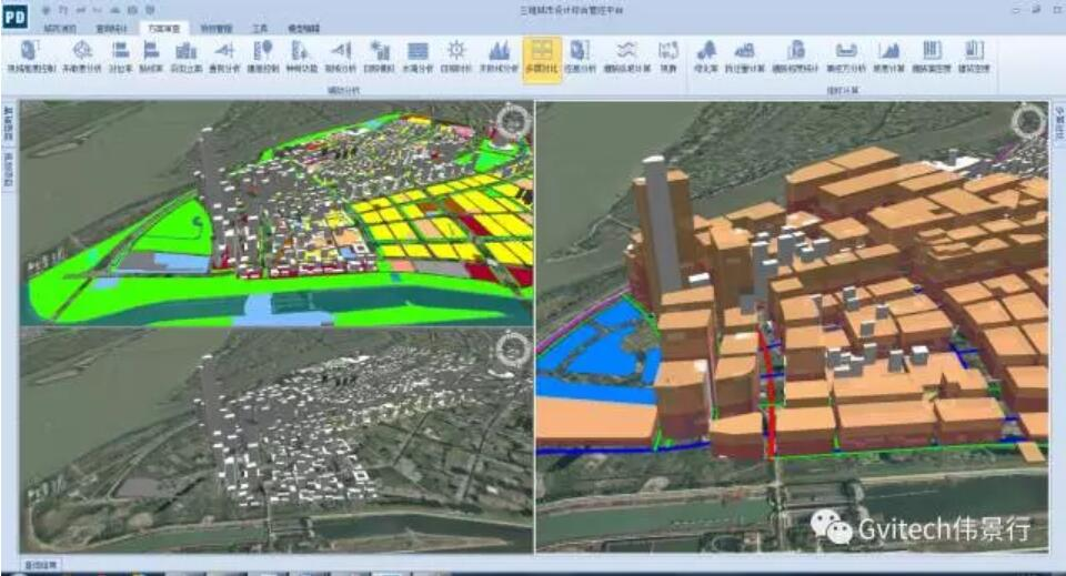 伟景行city designer助力城市规划设计走向智能
